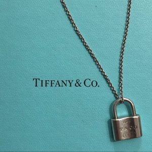 Tiffany & Co. | Lock Necklace | Silver